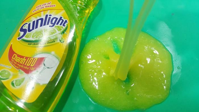 Cách làm Slime không cần hồ