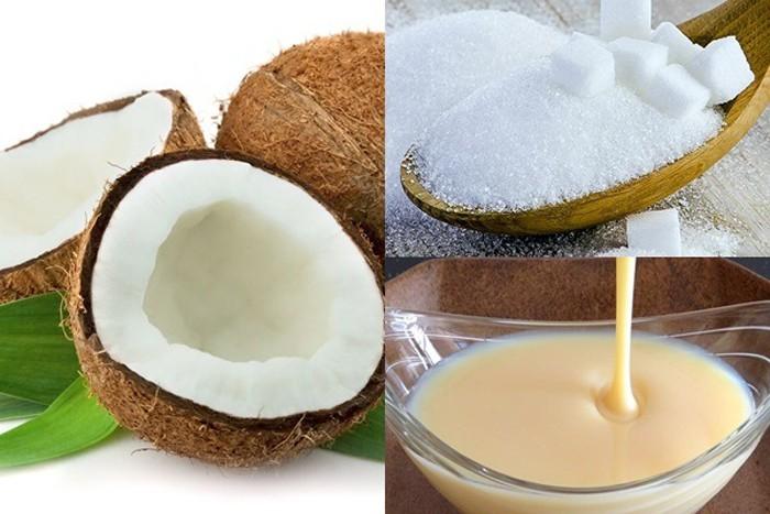 Cách làm mứt dừa đặc sữa ông thọ