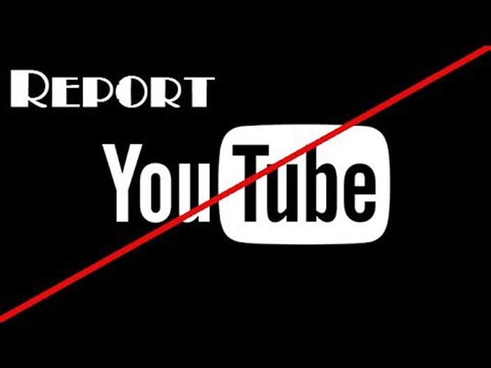 Cách report kênh Youtube