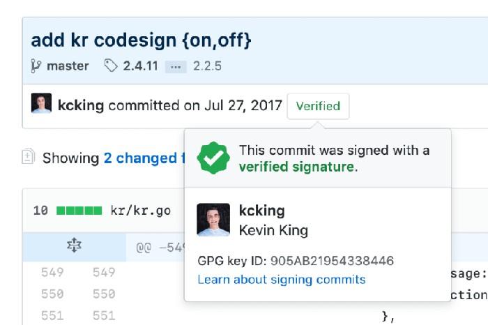 Chỉ cần nhìn vào Commit là có thể biết được lịch sử thay đổi các file