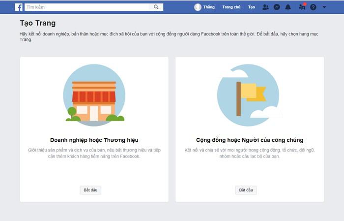Cách tạo fanpage trên Facebook nhanh nhất