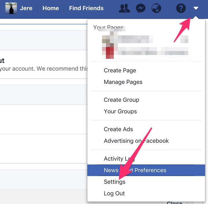 Cách đổi mật khẩu Facebook