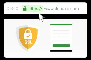SSL sẽ mã hóa công khai giúp trình duyệt và website tự thỏa thuận 1 bộ khóa
