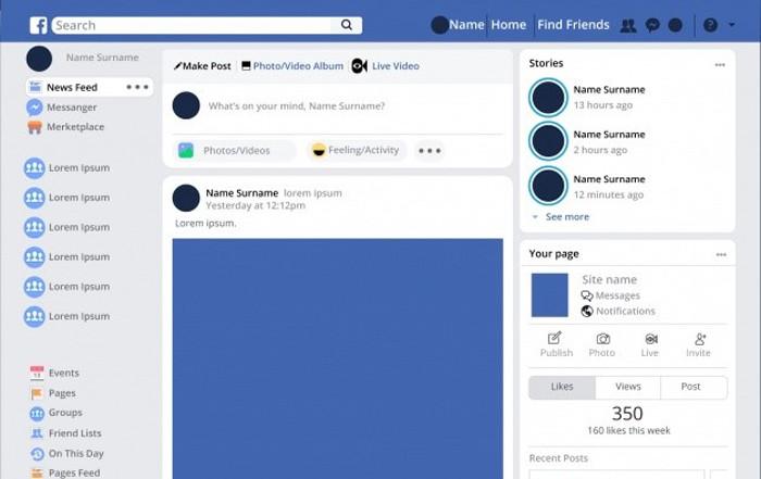 Mạng xã hội Facebook là một dạng website đặc biệt