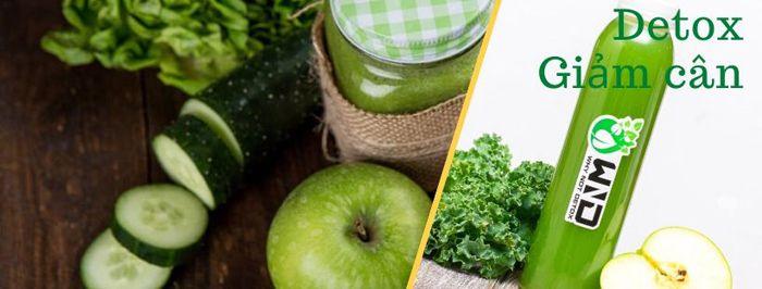 Cách làm detox giảm cân