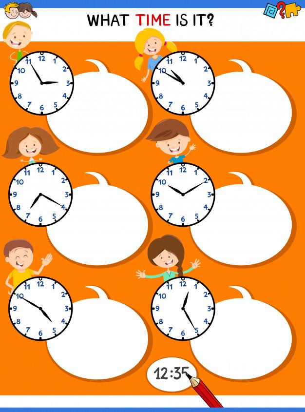 Cách 1: Số phút + past + Số giờ (Cách nói giờ hơn)