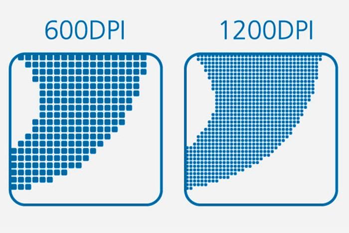 DPI càng cao thì chất lượng bản in càng cao