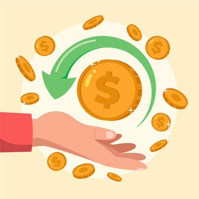 Tiền mặt có tính thanh khoản cao nhất bởi nó được dùng để thanh toán, tích trữ mà giá trị ít thay đổi