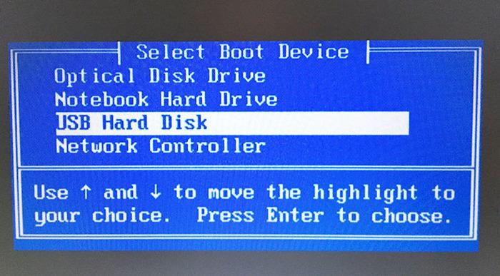 Chọn UST Hard Disk
