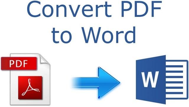 Đoạn thoại xác nhận chuyển đổi pdf sang word.
