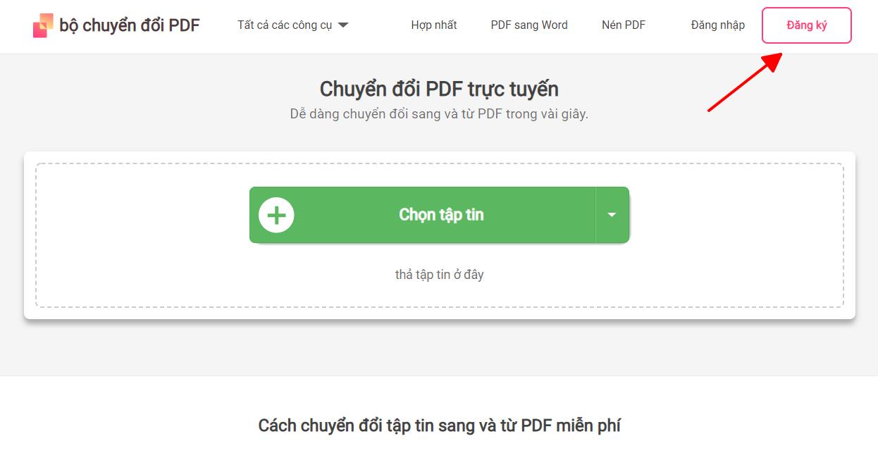 Cách chuyển Pdf sang 2010 word bằng chương trình Pdf convert