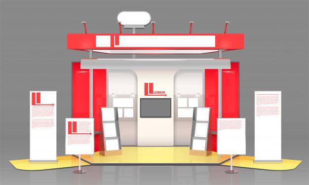 Booth chính là khoảng không gian trưng bày, quảng bá sản phẩm