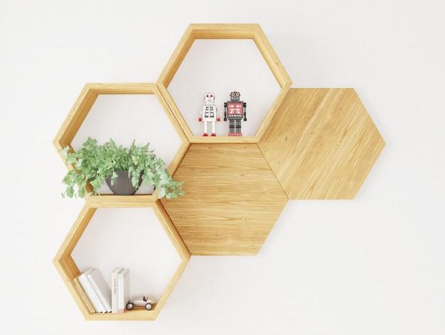 Các vật dụng bạn có thể DIY là kệ treo tường, giá sách, gối tựa lưng,...
