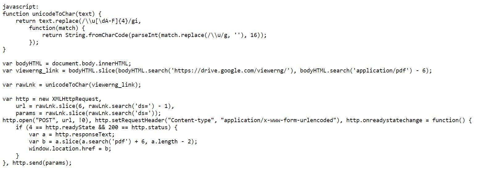 Dùng mã Code để tải file Google Drive