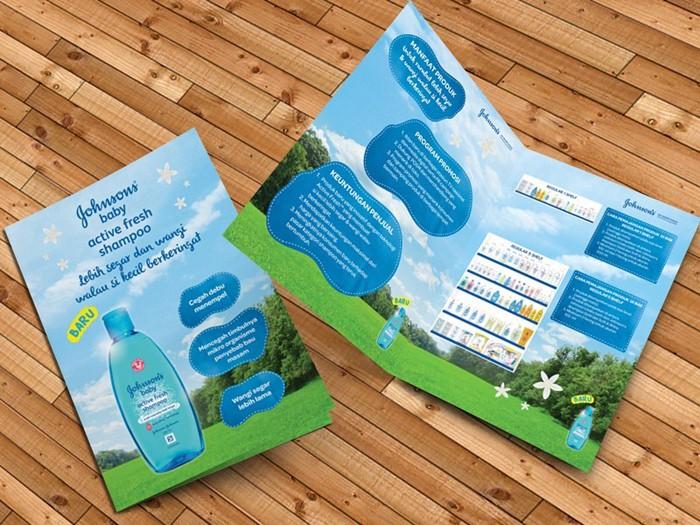 Leaflet dùng để cung cấp thông tin sản phẩm, có thiết kế nhỏ gọn, tiện lợi