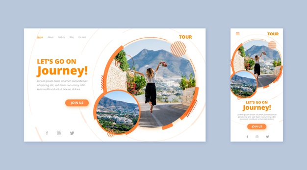 Các template có bố cục layout, hình ảnh,... rõ ràng giúp tiết kiệm thời gian