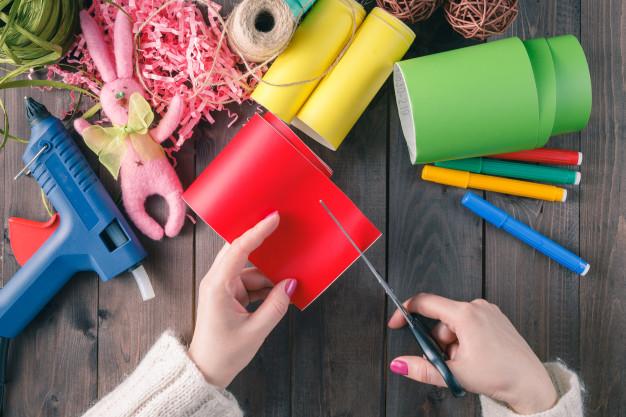 DIY giúp bạn có cơ hội được thoải mái tự do nghĩ ra những ý tưởng mới