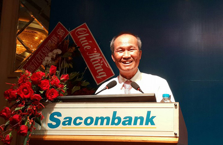 Ông Dương Công Minh giữ chức vụ chủ tịch HĐQT của Sacombank bắt đầu từ năm 2017
