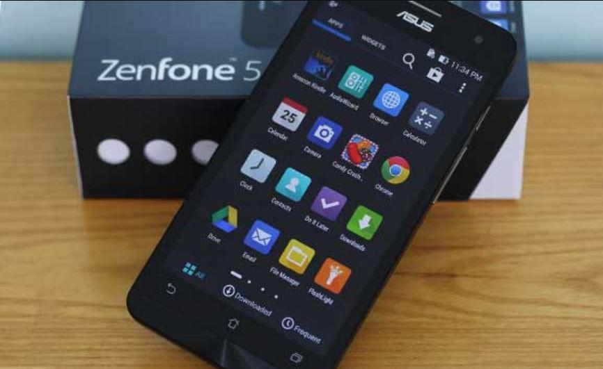 Cách chụp màn hình điện thoại ASUS