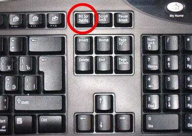 Chụp bằng bàn phím máy bàn