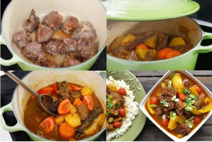 Công thức nấu bò kho Ấn Độ