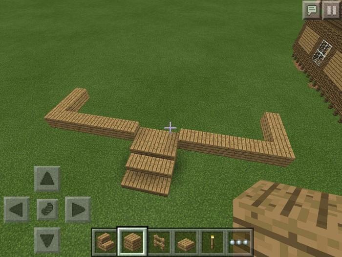 Hướng dẫn cách chơi Minecraft – Cách xây thềm nhà