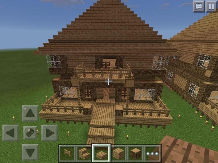 Hướng dẫn cách chơi Minecraft – cách làm mái nhà
