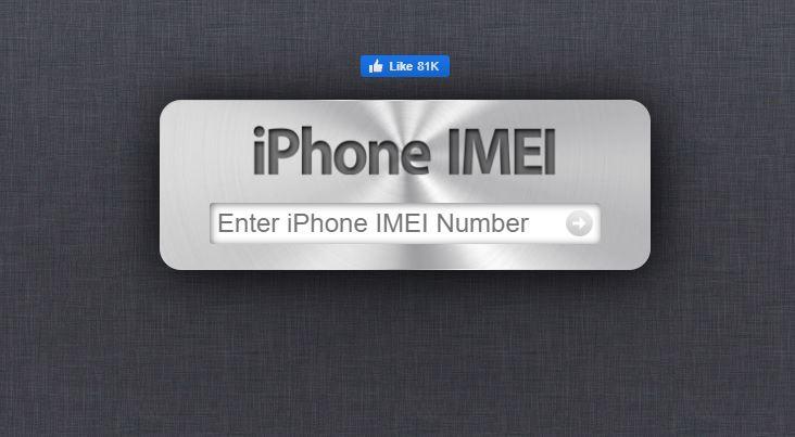 Nhập số IMEI rồi nhấn Enter