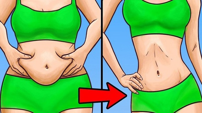 Tập thể dục thường xuyên giúp đánh tan mỡ bụng