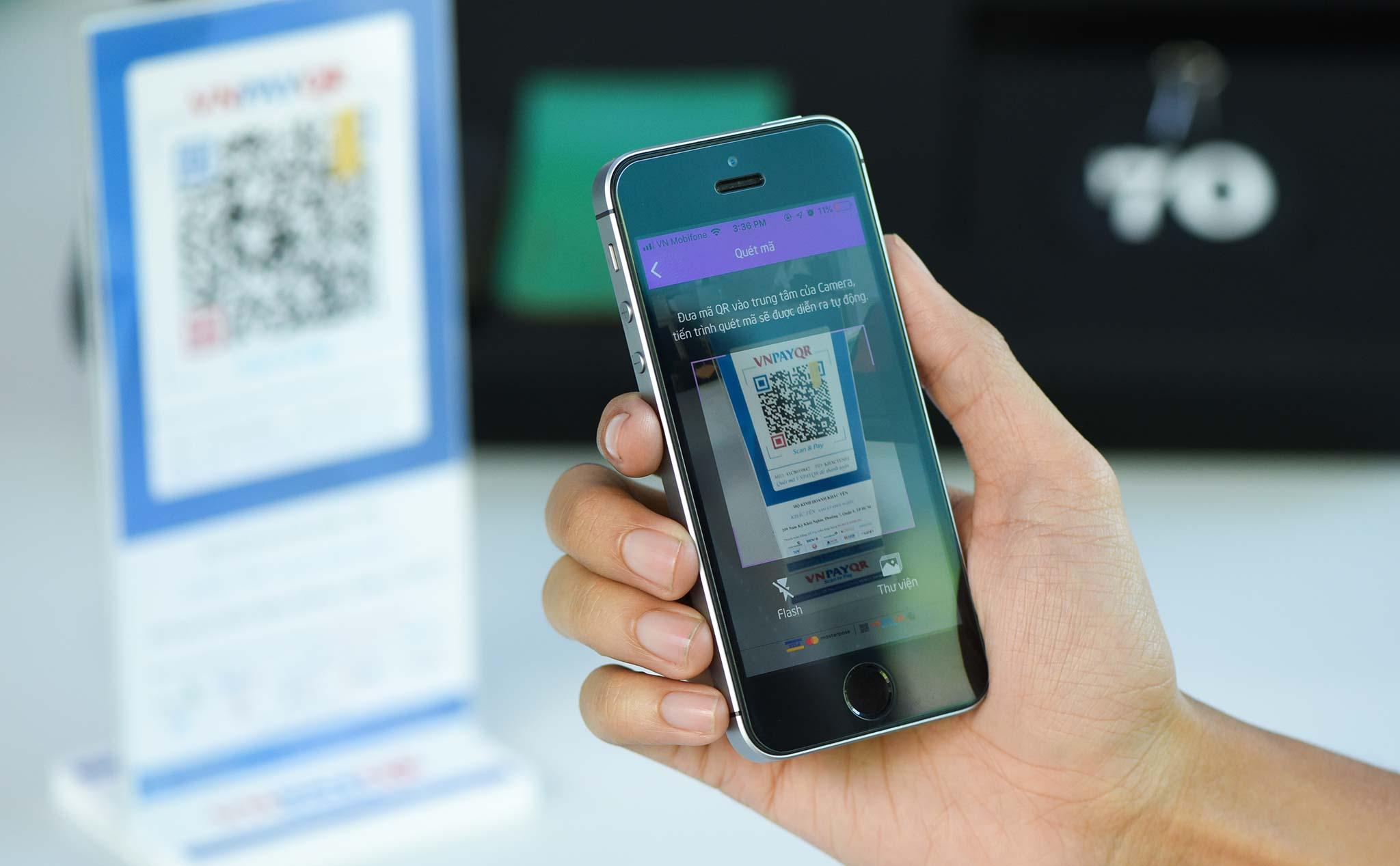 VNPAY-QR giúp mọi thông tin tài khoản của khách hàng đều được bảo mật