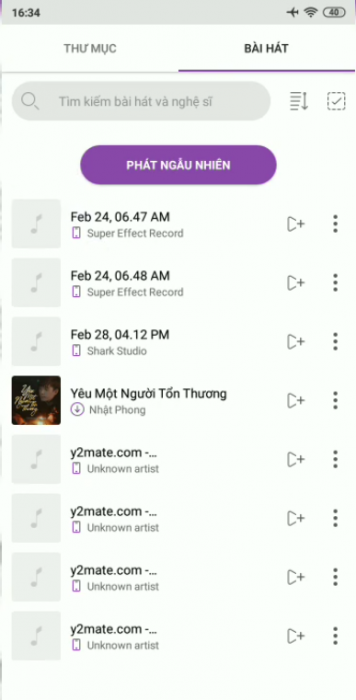 Vào tải nhạc vào ZingMp3