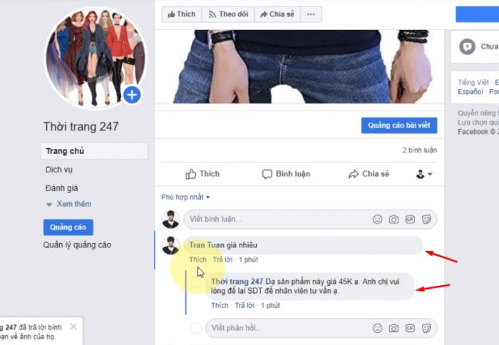 Tự động Inbox khi khách hàng bình luận (Chatbot facebook)