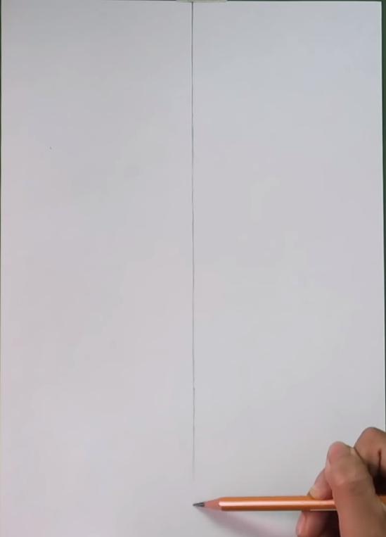 Vẽ một trục dọc