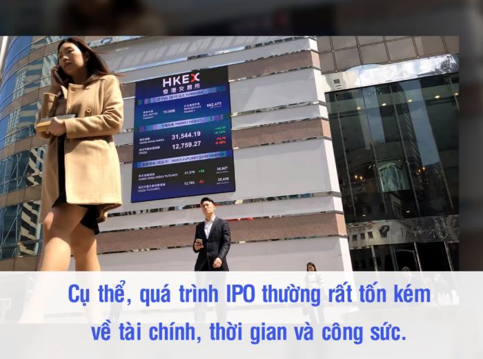 Quá trình IPO thường rất tốn kém về tài chính