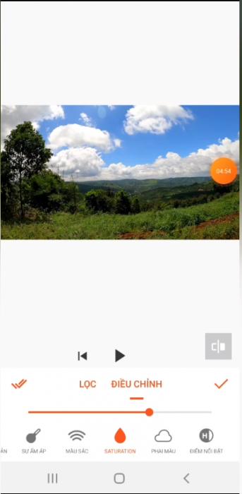 Chọn công cụ lọc để video đẹp hơn