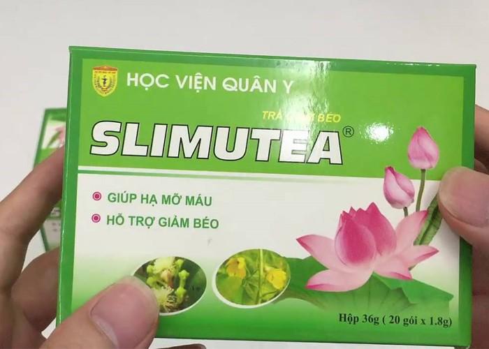 Slimutea – Trà giảm cân học viện quân y giúp giảm béo, hạ mỡ máu an toàn