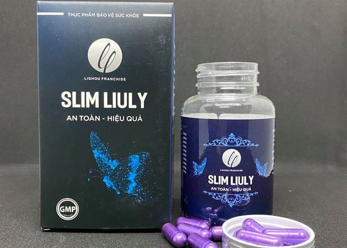"""Thuốc giảm cân Slim Liuly – """"Thần dược"""" của người """"béo"""""""