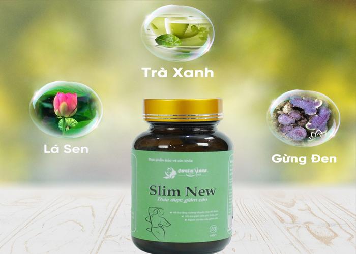 Thuốc Giảm Cân Slim New – Đánh Tan Mỡ Tạo Dáng Chuẩn