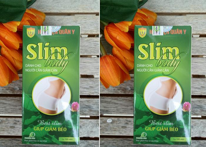 05 Điều cần biết về thuốc giảm cân Slim học viện Quân Y