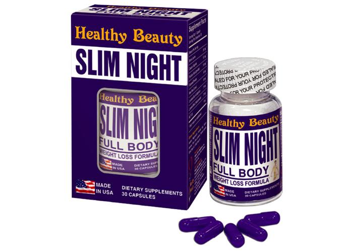 Thuốc giảm cân Slim Night – Viên uống 24 giờ tác dụng bất ngờ