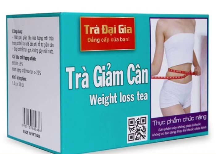 Trà giảm cân Đại Gia có an toàn, hiệu quả như quảng cáo?