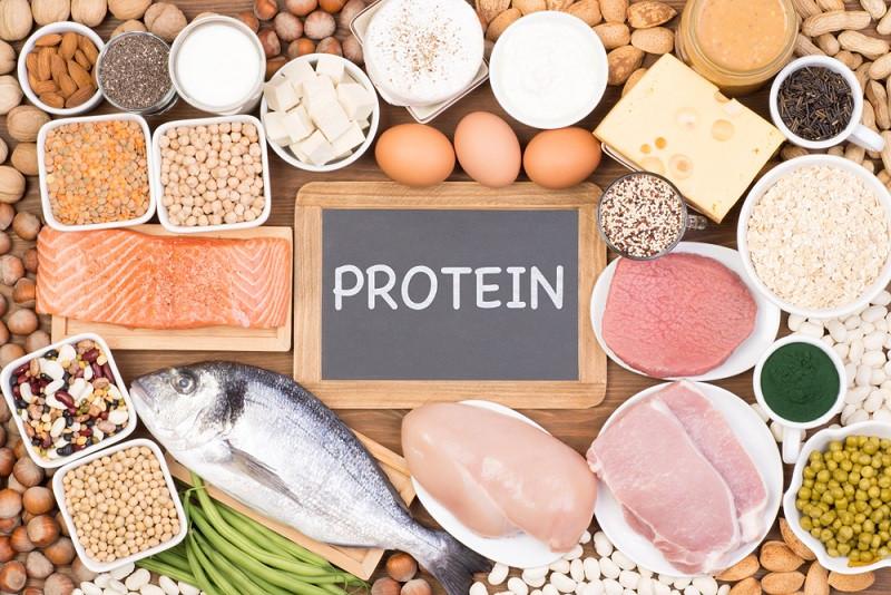Bổ xung Protein là một trong những cách giảm mỡ tăng cơ