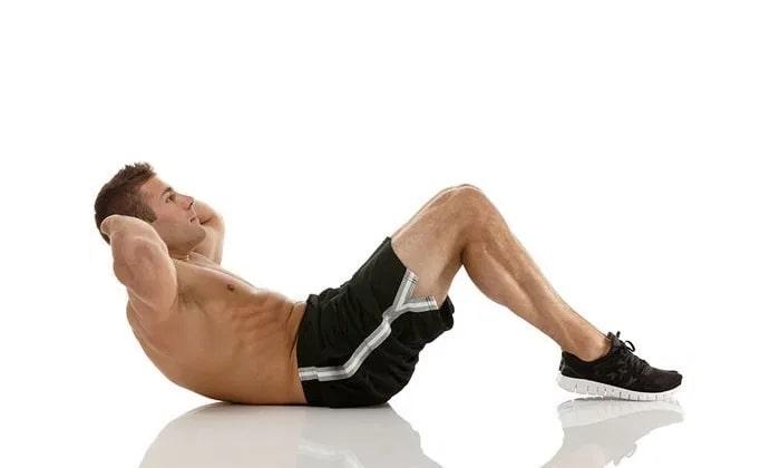 Gập bụng tác động trực tiếp vào phần cơ bụng, làm những mỡ thừa