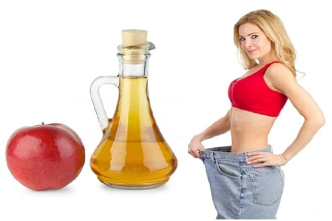 Một vài cách giảm cân bằng giấm táo hiệu quả
