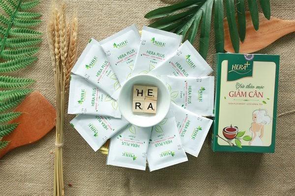 Hướng dẫn sử dụng trà giảm cân Hera Plus đúng cách:
