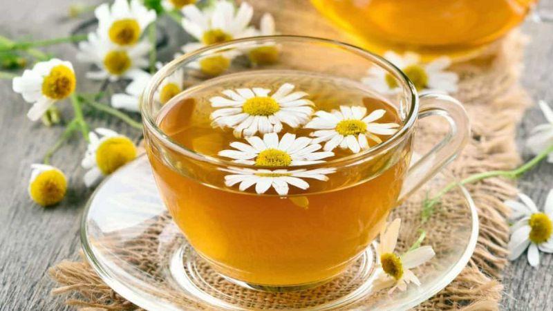 Trà hoa cúc – loại trà giảm cân hiệu quả được nhiều chị em phụ nữ yêu thích
