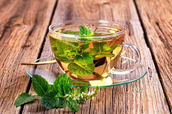 Trà bạc hà – trà giảm mỡ bụng cho nữ được đánh giá cao