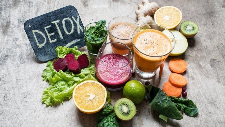Detox có công dụng giúp cơ thể được thanh lọc