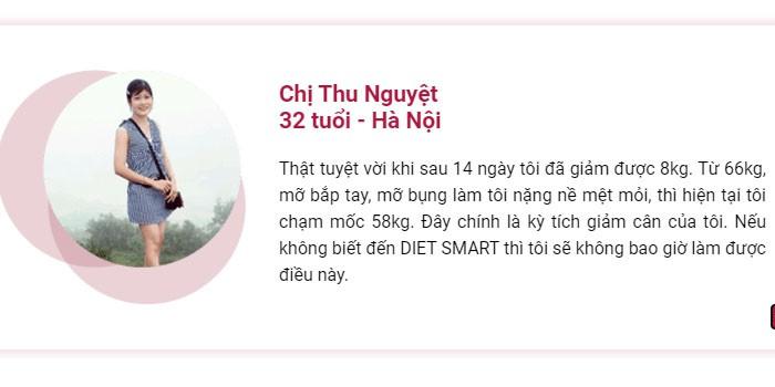 """Diet Smart - Sự lựa chọn hoàn hảo cho """"công cuộc"""" giảm cân của bạn"""