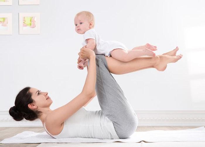 Một số cách giảm cân tự nhiên sau sinh đơn giản tại nhà